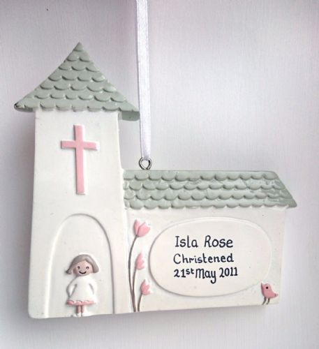 Personalised Church with Little Girl